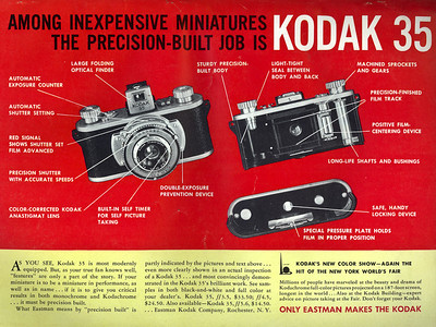 Ad from Popular Photography, July 1940