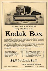 Ad for Kodak Brownie No. 2 (earlier than Model F)