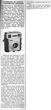 Review from Modern Photography, Aug. 1959