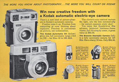 Ad from Popular Photography, Jan. 1960