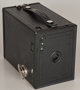 Kodak Brownie No. 2 (Model F; 1924-33; also shown separately)