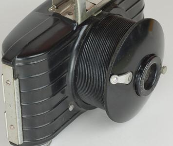 Kodak Bullet - Lens extended.