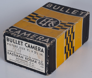Kodak Bullet Camera Box - Note Kodak logo.