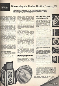 Ad from Popular Photography, March 1953
