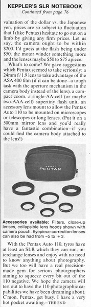 Review from Modern Photography, Oct. 1978