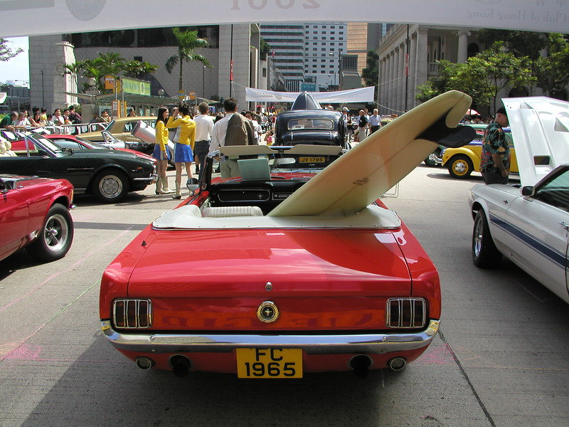 Hawaii style Ford Mustang