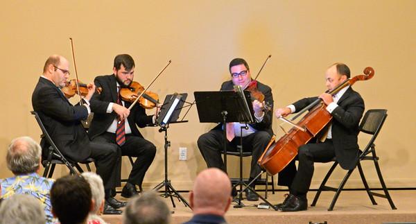 2 6 17 Amernet String Quartet Marco Island Debut