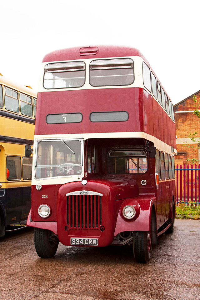 334 CRW Coventry Transport <br /> 1963 Daimler CVG6 with Metro Cammell Bodywork