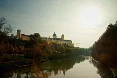 Melk Abbey-river