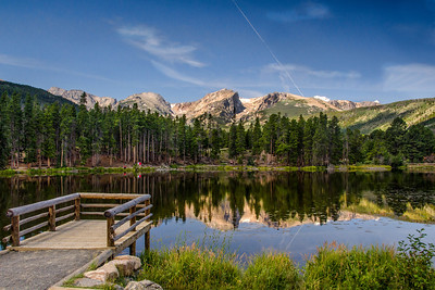 Sprague Lake, Rocky Mt. Nat'l Park