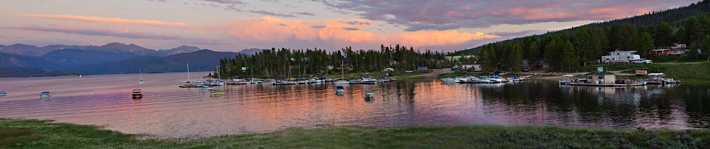 Granby Lake pano