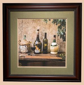 Time in a bottle framed