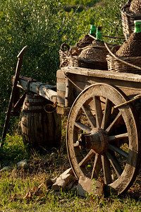 Cart and Demijohns
