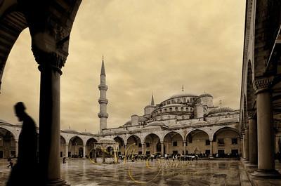 Rainy Mosque