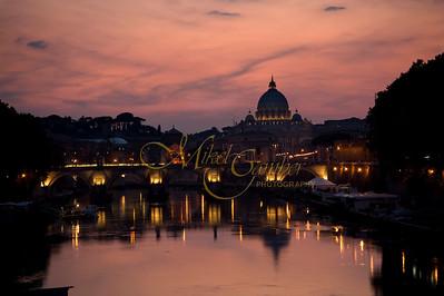 San Pietro sunset