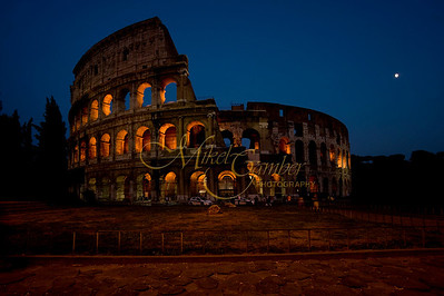 Colosseo evening