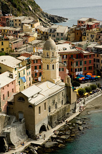 Vernazza church