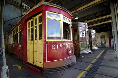 carollton trams