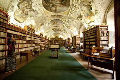 The Strahov Monastery Theological library