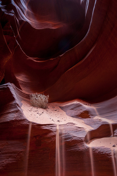 """Sand Waterfalls' - Upper Antelope Canyon-Arizona"