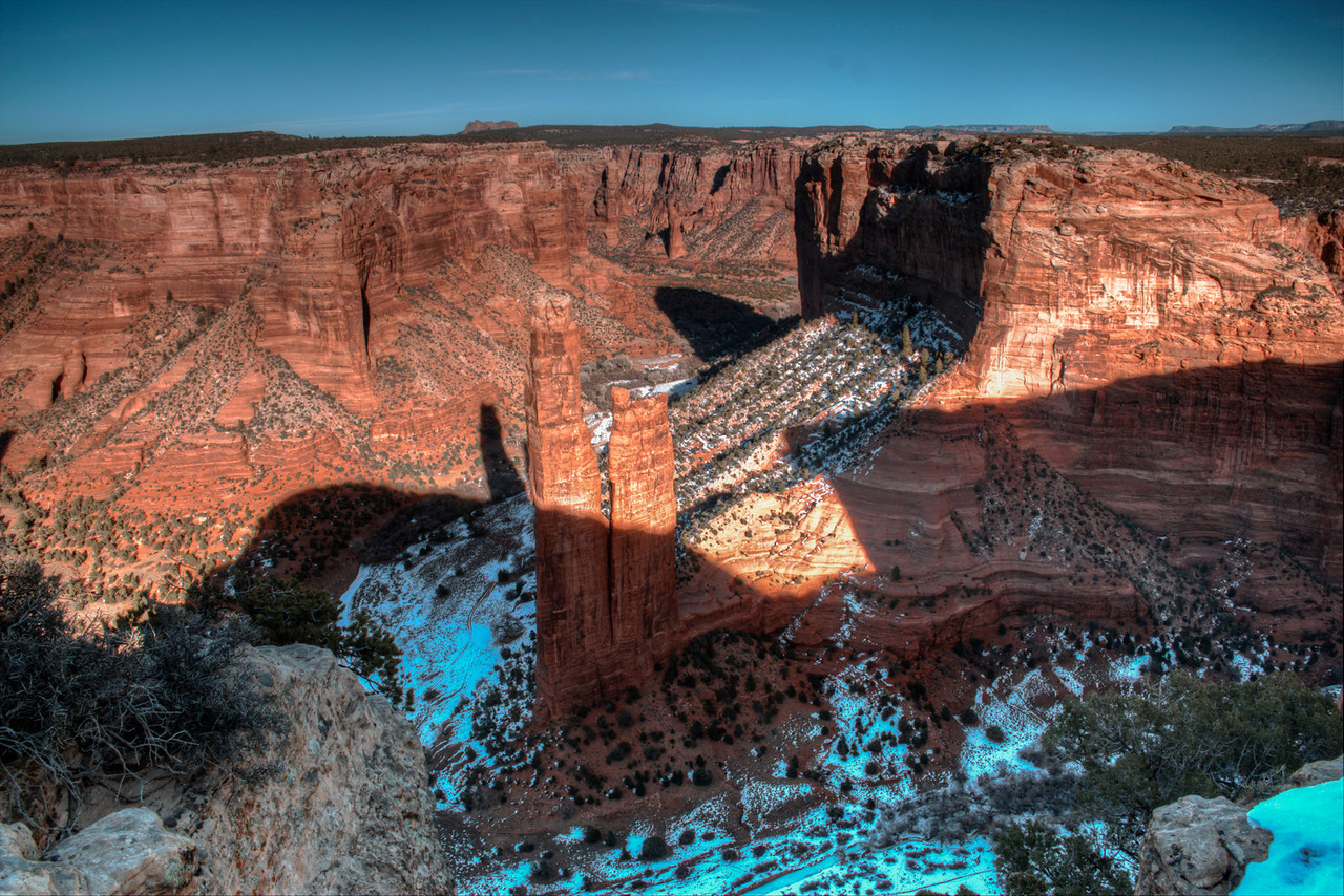 Spiderrock - Canyon de Chelly - Arizona