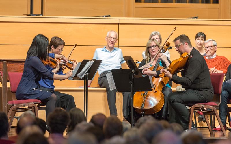 "String Quartet No. 1 (2014), ""Pale Blue Dot"" by David Ludwig"