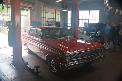 1965 Ford Falcon wagon.