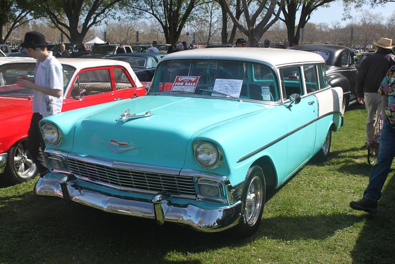 56 Chevy 2-door wagon