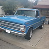 1967-72 Ford Pickup truck - port front