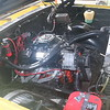 Yellow pickup engine bay - starboard