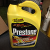 Current bottle of Prestone antifreeze