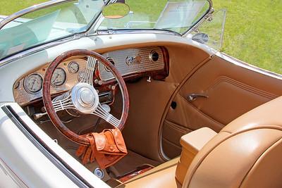 1936 Auburn interior