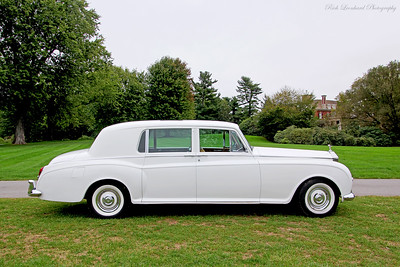 Rolls Royce Silver Cloud Limo at Old Westbury Gardens.
