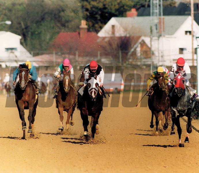 Black Tie Affair winning 1991 Breeders' Cup Classic