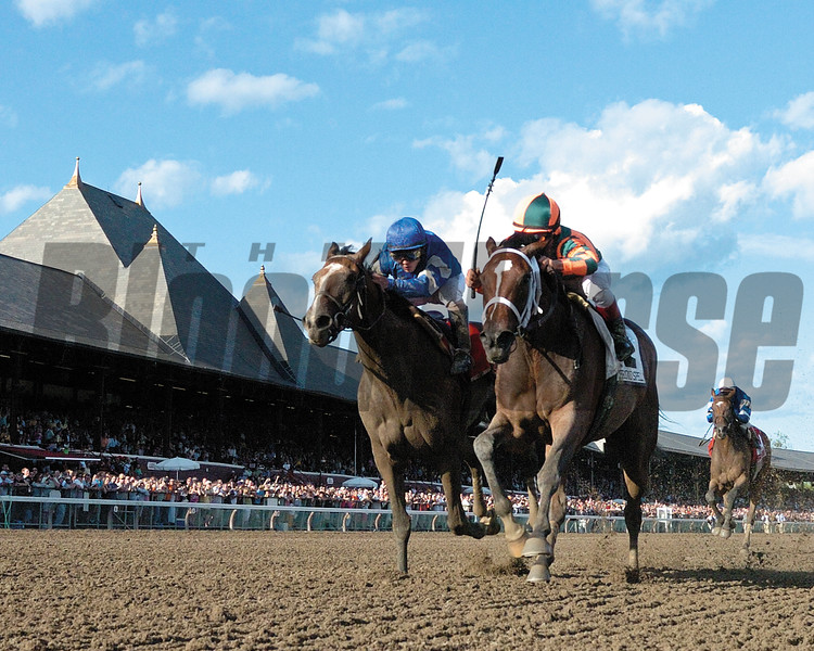 Proud Spell wins The Alabama at Saratoga