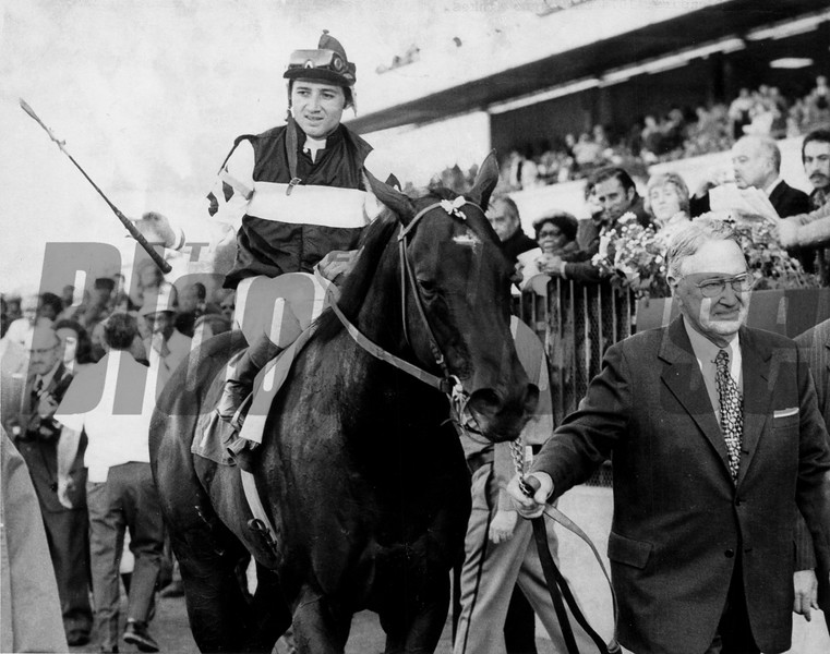 Foolish Pleasure 1974 Champagne Stakes<br /> Photo by: Bob Coglianese/NYRA