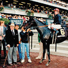 Winner's Circle Miner's Mark wins the 1993 Jockey Club Gold Cup at Belmont Park.