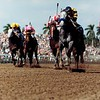 Thirty Slews wins the 1992 Breeders' Cup Sprint<br /> Skip Dickstein