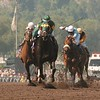 Cajun Beat wins the 2003 Breeders' Cup Sprint<br /> Skip Dickstein Photo
