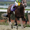 Folklore wins the 2005 Breeders' Cup Juvenile Fillies.<br /> Skip Dickstein