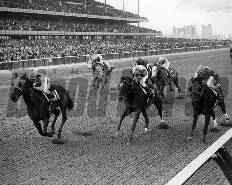 Personality wins 1970 Wood Memorial at Aqueduct. <br /> Photo by: Bob Coglianese