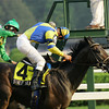 Street Sense wins the 2007 Travers.<br /> Coglianese Photos