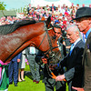 Racing from York August 22, 2012. Juddmonte International.<br /> Victorious Frankel Team,  Prince K Abdulla and Sir Henry Cecil
