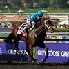 Photo by Skip Dickstein - She Be Wild wins the Breeders' Cup Juvenile Fillies with Jockey Juilien Leparoux aboard at Santa Anita November 6, 2009.