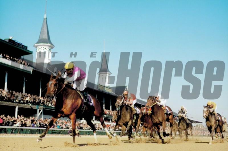 Reraise wins the 1998 Breeders' Cup Sprint<br /> Skip Dickstein Photo