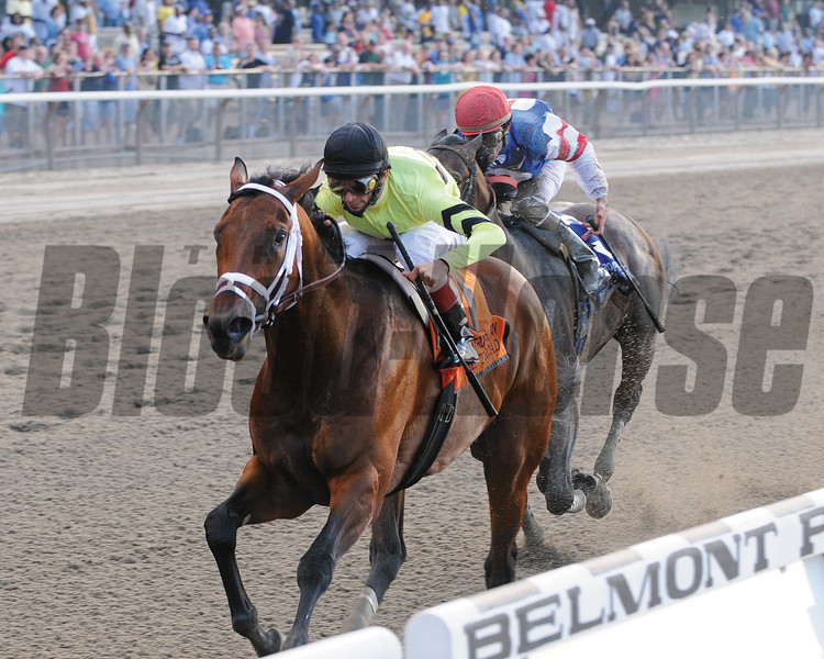 Quality Road wins the Met Mile over Musket Man (2nd)<br /> Coglianese Photos/Susie Raisher
