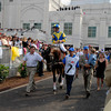 CAPTION:  Street Sense with Calvin Borel in the paddock<br /> Derby day  at Churchill Downs on May 5, 2007, in Louisville, Ky.<br /> Race8 image3471<br /> Photo by Anne M. Eberhardt