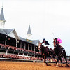 Tiznow, 2000 Breeders' Cup Classic finish, Churchill Downs<br /> Skip Dickstein Photo