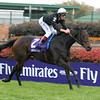PHOTO BY ALEXANDER BARKOFF BREEDERS CUP 2006<br /> Ouija Board with Lanfranco Dettori wins the Emirates Airline Filly and Mare Turf Breeders' Cup race at Churchil Downs Saturday November 4, 2006