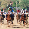 Charismatic wins the 1999 Kentucky Derby<br /> Skip Dickstein Photo